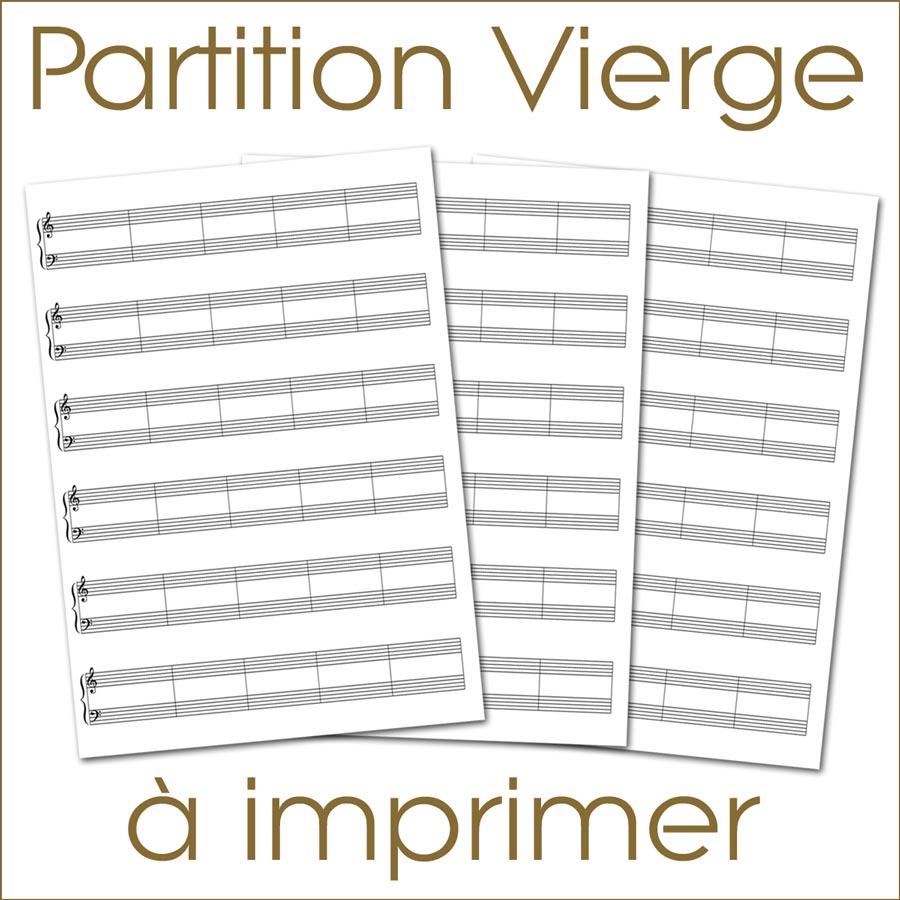 Partition vierge 1 0 t l charger de la musique - Feuille de musique a imprimer ...