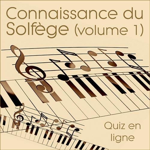 Quiz Solfège volume 1